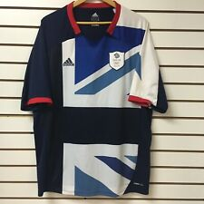 Great Britain Olympic Soccer Team Adidas Soccer Jersey Size 2xl 2012