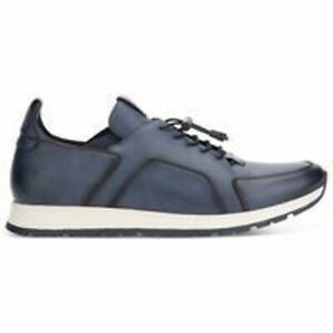 NEW Kenneth Cole REACTION Men's Intepid Lace Up C Sneaker BLUE  SIZE 8.5 M NIB