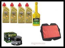 Kit tagliando honda crosstourer 1200 olio castrol 10w40 filtro olio aria + omagg