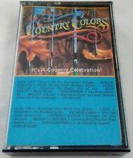 Rare Classic Cassette Country Colors It's A Country Celebration Multi-Artist EUC