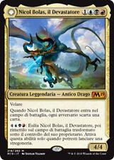 MTG NICOL BOLAS, THE RAVAGER EXC - NICOL BOLAS, IL DEVASTATORE - M19