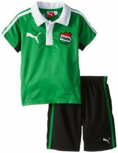 PUMA Toddler Boys Country Perforated Set, Fern Green