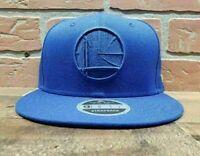New Era 9FIFTY NBA Golden State Warriors Men's Blue Snapback Cap
