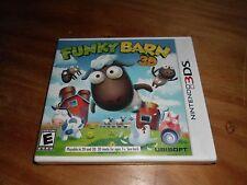 NEW & SEALED Funky Barn 3D - RUN YOUR OWN FUNNY FARM SIM Nintendo 3DS