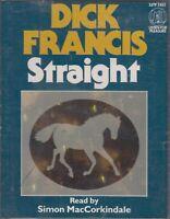 Dick Francis Straight 2 Cassette Audio Book Abridged Thriller Jockey Horses