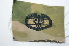 GENUINE US ARMY ISSUE MCU MULTICAM PAINTBALL COMBAT MEDIC BADGE CLOTH