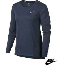 NIKE RUNNING TOP Women's  DRI FIT Size Extra  Small long sleeve 854943-471 XS