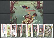 Walt Disney, Weihnachten - Grenada Grenadinen - 529-537, Bl.70 ** MNH 1982