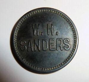 Trade Token Maverick W. H. SANDERS GF 5c IT