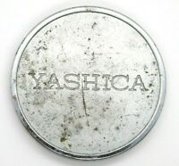Yashica Original Vintage 54mm Silver Metal Front Lens Cap Filter Rim 52mm Rare