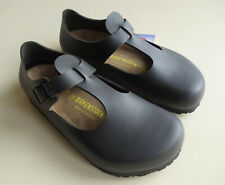 BIRKENSTOCK Leather Mary Jane's Shoes PARIS Black US7-7.5 EU38 UK5 Regular wB