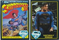 Superman 1980s Collectable Trading Cards