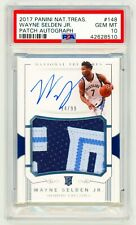 WAYNE SELDEN JR. RPA Rookie Patch Auto 2017 Panini National Treasures RC PSA 10