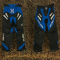 NEW HK Army Freeline Padded Tournament Paintball Pants - Blue/Black - Medium