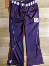 Reebok Atlanta Falcons NFL Womens Tracksuit Pants Trousers Football Purple ATL