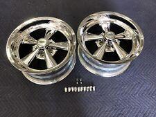 2 Cragar Display Ss Wheel 17x8 Inch 5x412 Inch Bp Ford Mopar Cap And Lugs