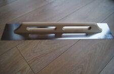 Glättkelle 130 x 700 mm Putzkelle Glättekelle Maurerkelle Holzgriff EDELSTAHL
