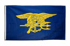 USA Navy Seals Trident FLAG american Banner 90x150cm - 5ftx3ft