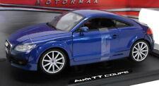 Motormax 1/18 Scale diecast - 73177 Audi TT Coupe Dark Blue