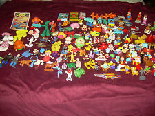 Vintage Mixed Lot of PVC Figures Cartoon Characters Cereal Toys 149 items HTF