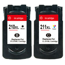 2PK Premium For Canon PG 210XL CL 211XL Ink Cartridge Canon PIXMA MP495 MX320