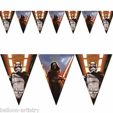 Star Wars Episode VII 7 The Force Awakens Party Pennant Flag Banner Decoration