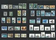 Australian Antarctic Territory AAT Stamps 1957-1980 Complete Sets 46 Values MUH