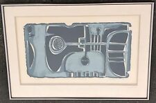Tadeusz Lapinski Print Trumpet Symphony 1964 Musician Music Listed Art MCM 22x32