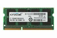 Crucial 8GB Memory 2Rx8 PC3L-12800S DDR3L 1600Mhz 204PIN Laptop RAM SODIMM 1.35V
