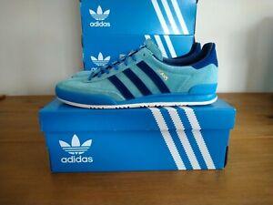 Adidas Originals Jeans Mint Blue Size 10 UK BNIBWT