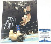 ROH Wrestling Flip Gordon Autographed 8X10 Photo Signed WWE NXT Beckett BAS COA