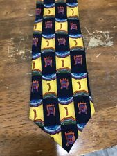 J Garcia Collectors Edition Men's Neck Tie 100% Silk Hand Sewn Made In USA