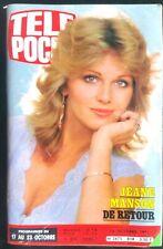 ►Télé Poche 14/10/1981; Roman-photo avec Dorothée/ Jeane Manson
