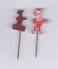 Flipje Tiel Rijno stick pin badge 60's speldje vtg