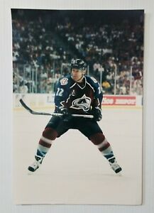 Claude Lemieux #22 Colorado Avalanche NHL Photo File 8x12 Unsigned Glossy Pic