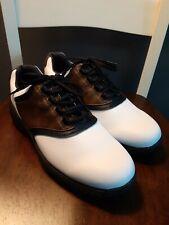 New listing Footjoy greenjoy Tour White/brown Saddle Golf Shoes 10M