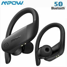 Mpow Sport Kopfhörer Bluetooth 5.0 Kopfhörer Kabellos Ohrbügel Bass Headset IPX7