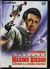 MÁXIMO RIESGO con Sylvester Stallone. Tarifa plana envíos combinados en DVD, 5 €
