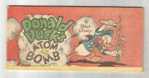 DONALD DUCK'S ATOM BOMB - Walt Disney 1947 - Mini-Comic BANNED