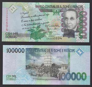 Sao Tomé e Principe 100000 dobras 2013  FDS/UNC  C-08