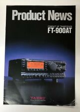 1994 Yaesu FT-900AT Compact HF Transceiver Brochure Product News G1