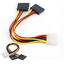 IDE SATA Cavo SDOPPIATORE Adattatore Esterno Hard Disk HDD SSD SCHEDA 4 PIN