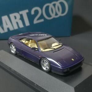 1:43 Herpa Kart 2000, Ferrari 348tb Sondermodell blau limitiert neuwertig OVP