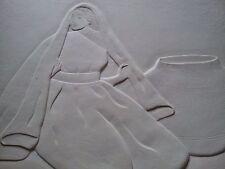 "RC Gorman Paper Sculpture, ""Autumn Jar"" Limited Edition 1987 Presentation Proof"