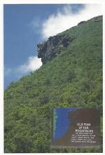 OLD MAN OF THE MOUNTAINS MEMORIAL POSTCARD LNH-100A FRANCONIA NOTCH  N. H.  New