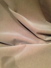 WONDERFUL 8 YARDS DESIGNER DONGHIA POLLACK SAND MOHAIR  VELVET FABRIC