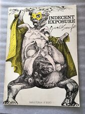 gerald scarfe indecent exposure original 1973 limited edition drawing collection