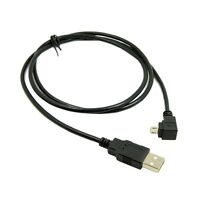 1m Down Angled 90 Degree Micro USB Male to USB Data Charge Cable for Phone