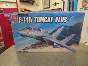 AMT/ERTL F-14A TOMCAT FIGHTER JET 1/72 SCALE 1988