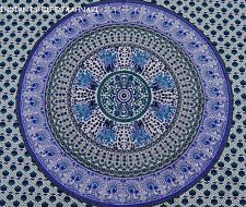 New Indian Wall Hanging Single Tapestries Bedspread Throw Ethnic Decor mandala